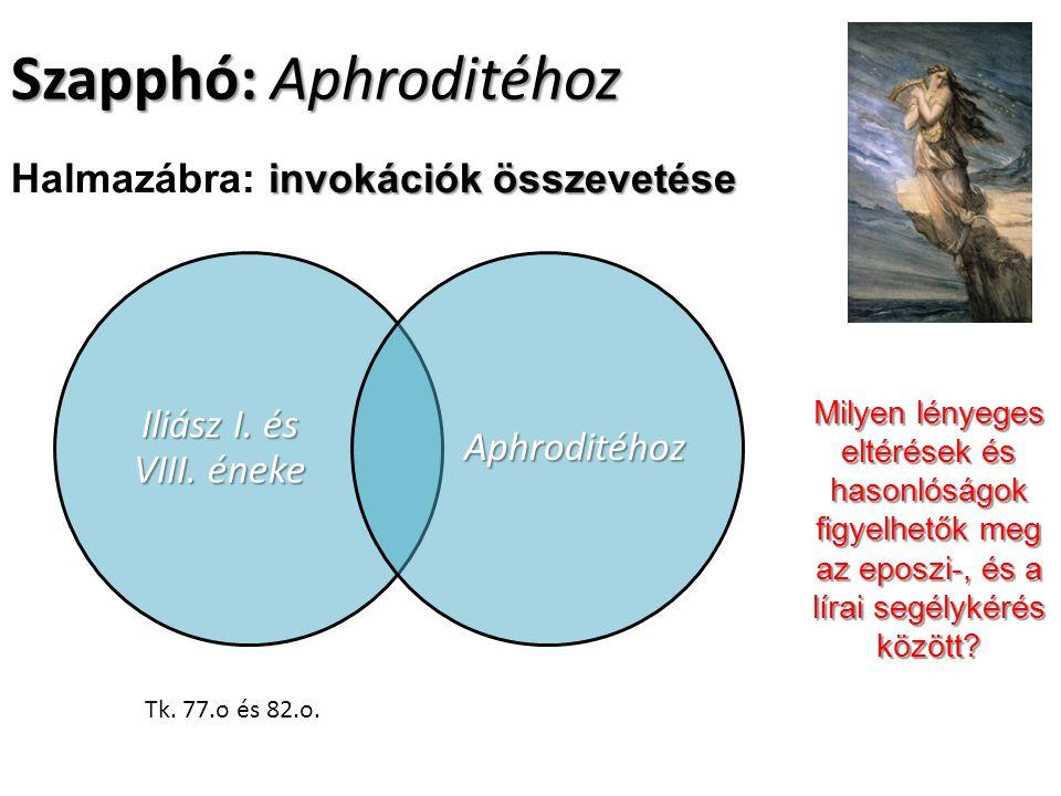 Szapphó: Aphroditéhoz