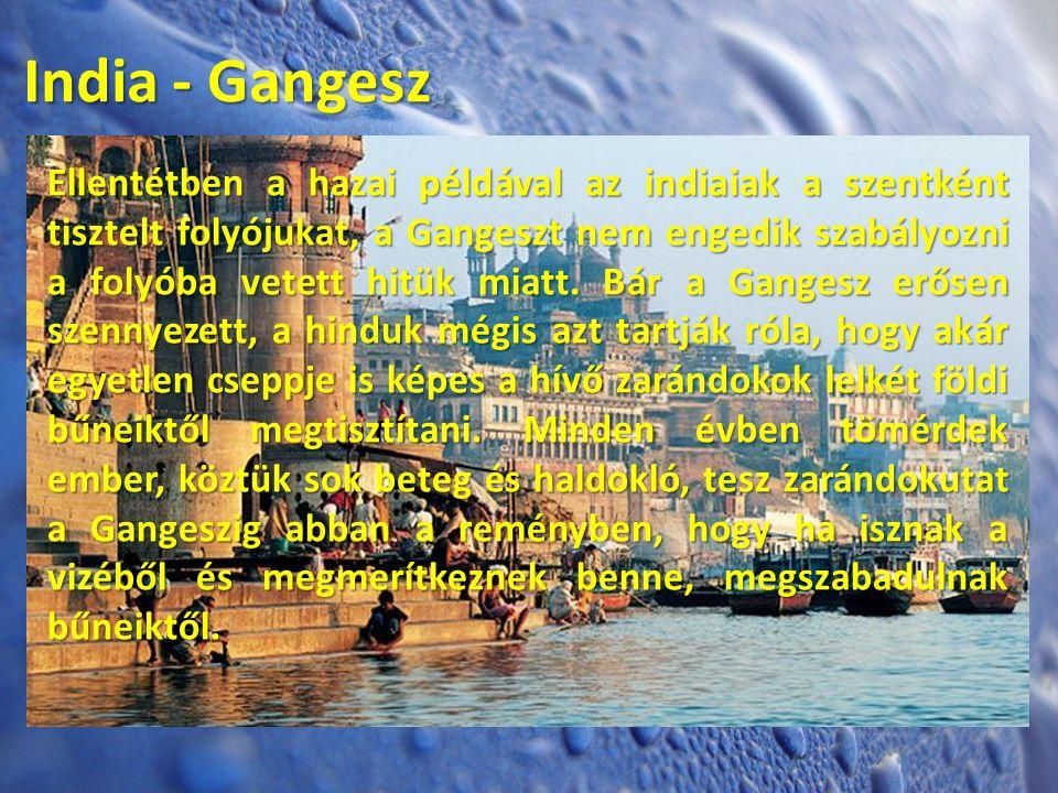 India - Gangesz