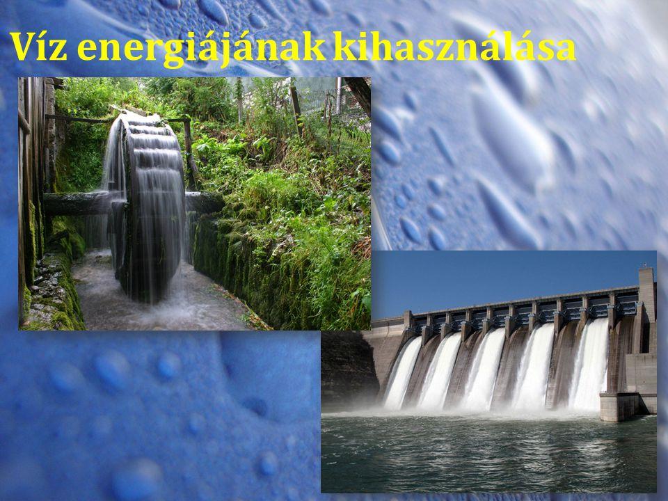 Víz energiájának kihasználása