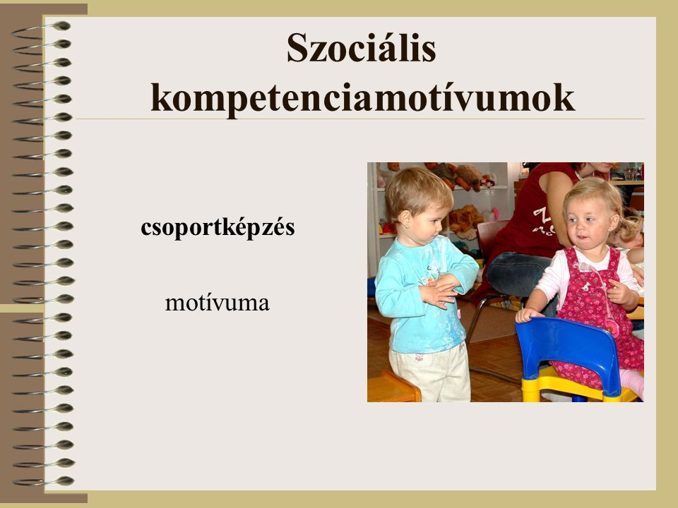 Szociális kompetenciamotívumok