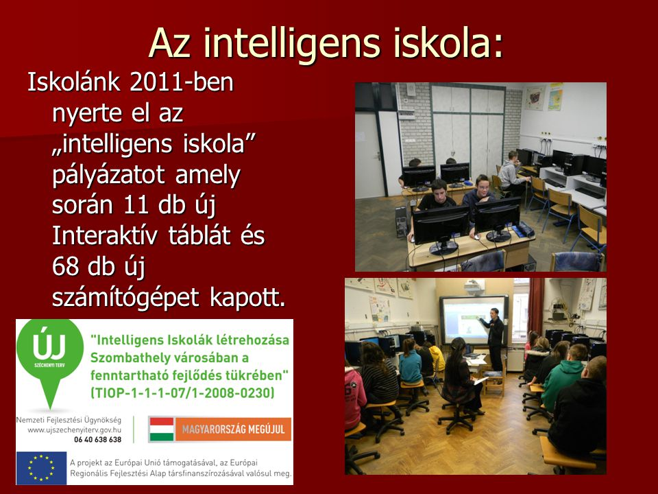 Az intelligens iskola: