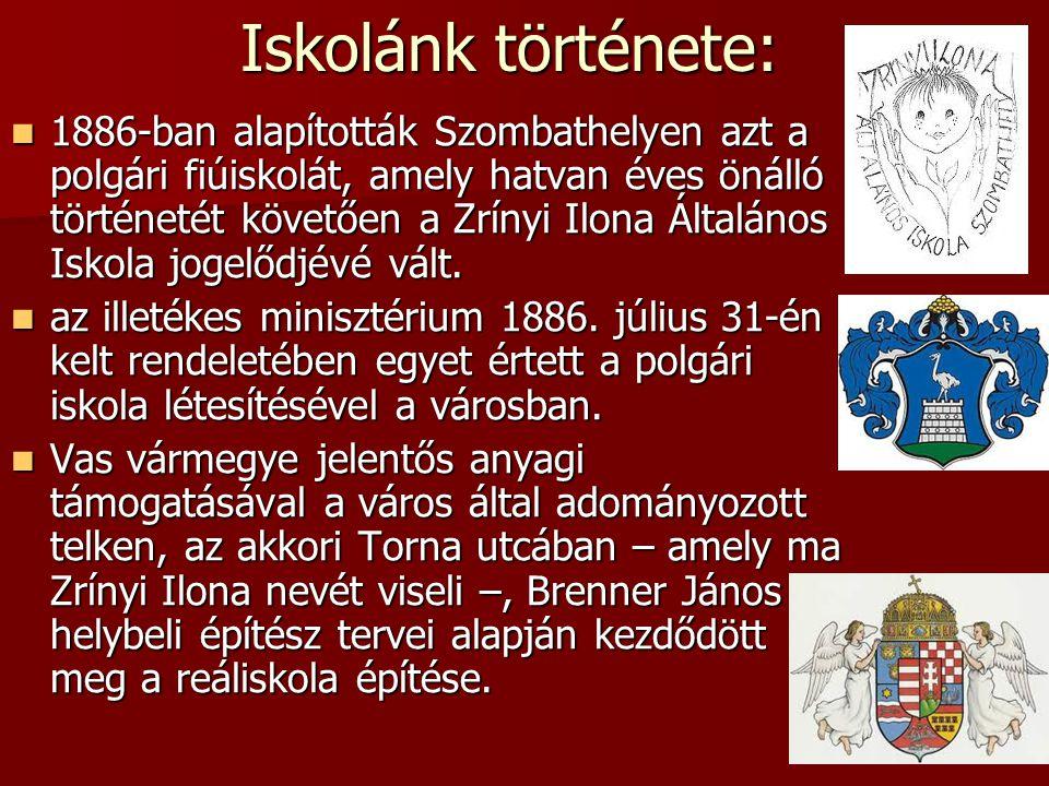 Iskolánk története: