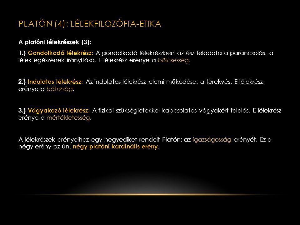PLATÓN (4): lélekfilozófia-etika