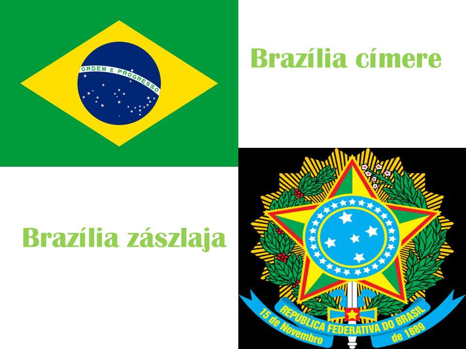 Brazília címere Brazília zászlaja