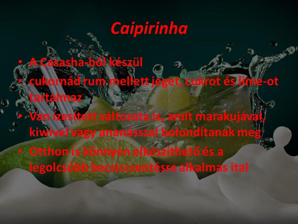 Caipirinha A Casasha-ból készül