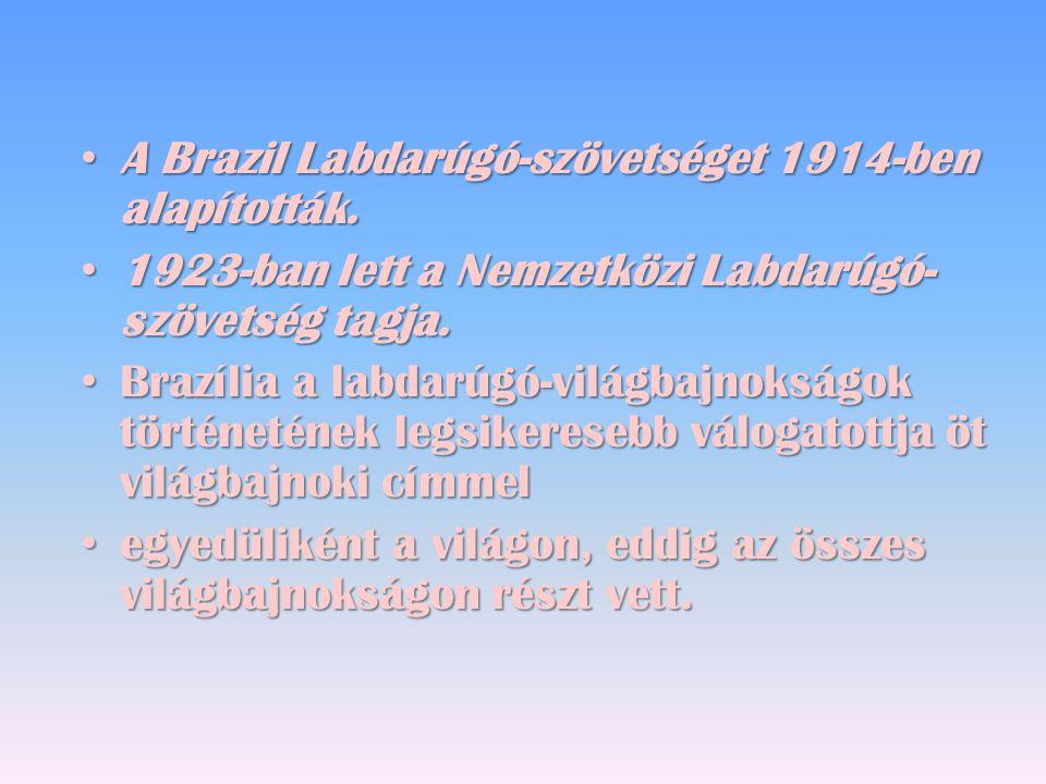 A Brazil Labdarúgó-szövetséget 1914-ben alapították.