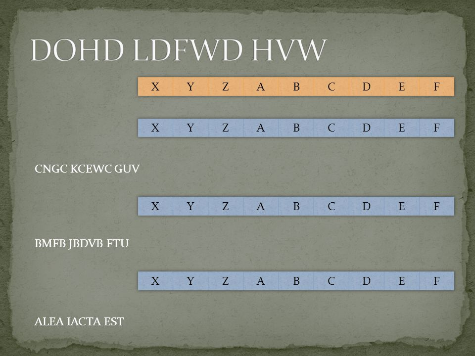 DOHD LDFWD HVW X Y Z A B C D E F X Y Z A B C D E F CNGC KCEWC GUV X Y