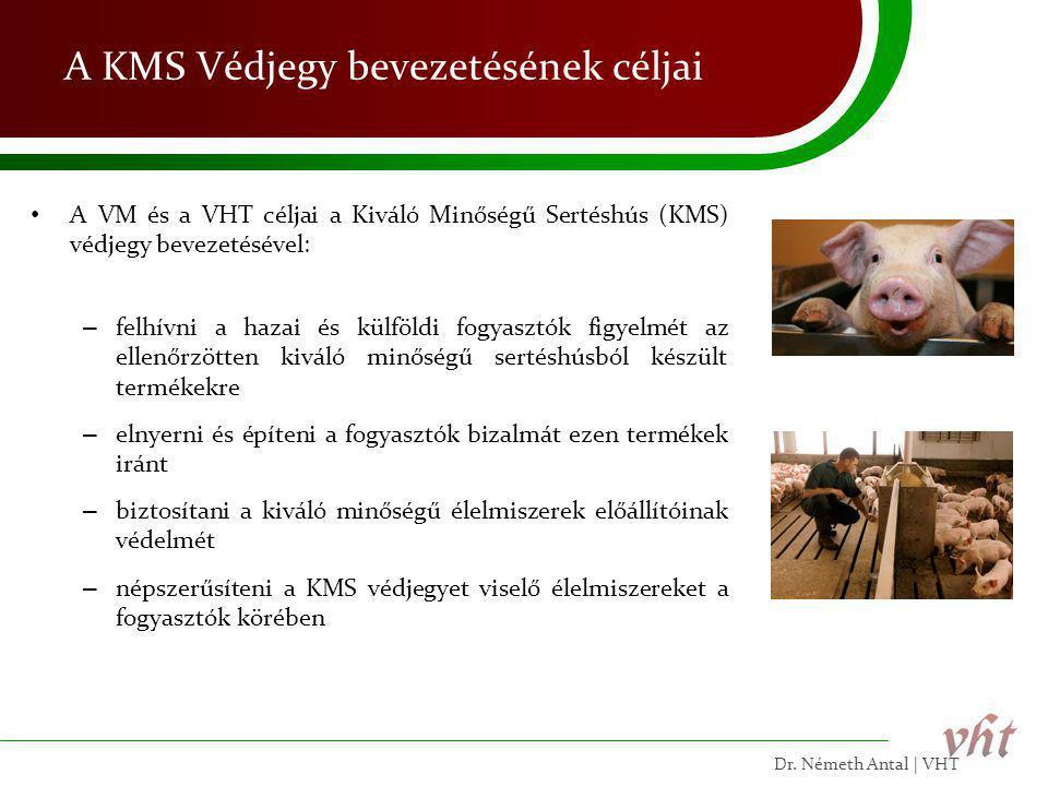A KMS Védjegy bevezetésének céljai