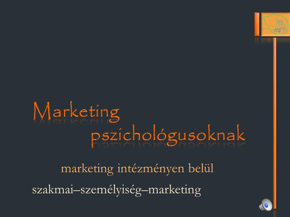 Marketing pszichológusoknak