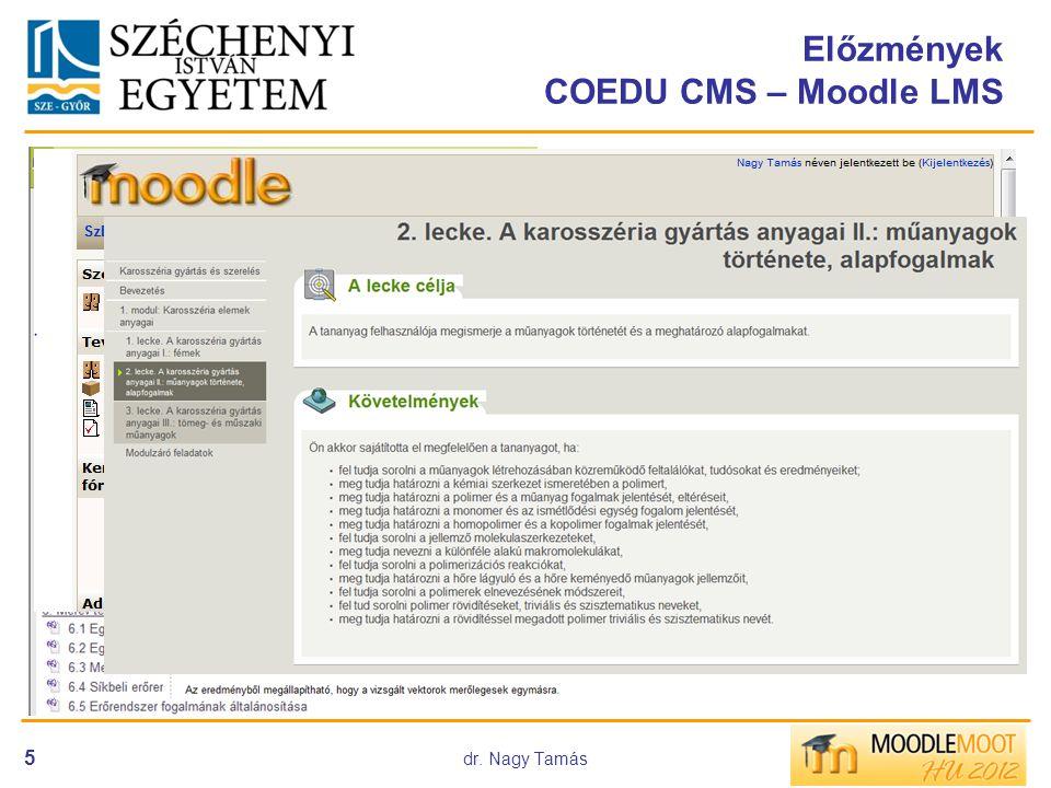 COEDU rendszer bevezetése 2003-tól
