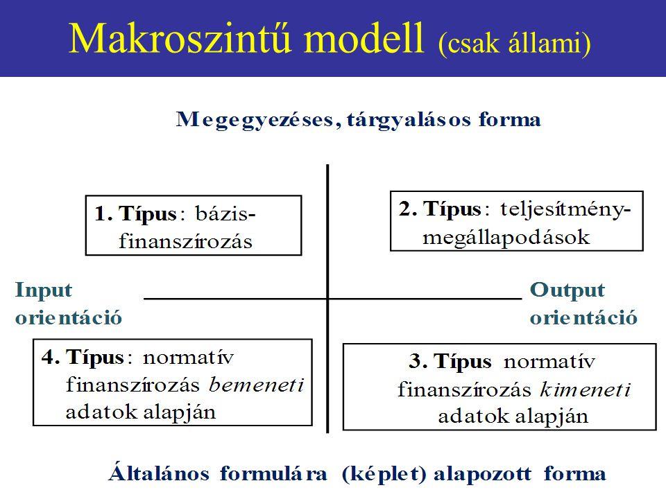 Makroszintű modell (csak állami)