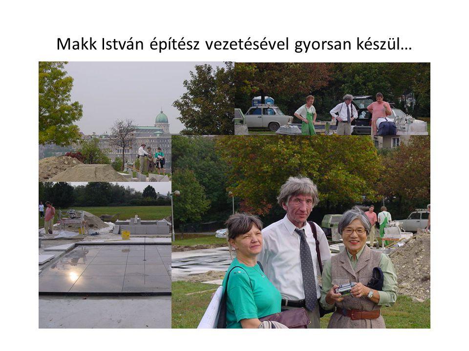 Makk István építész vezetésével gyorsan készül…