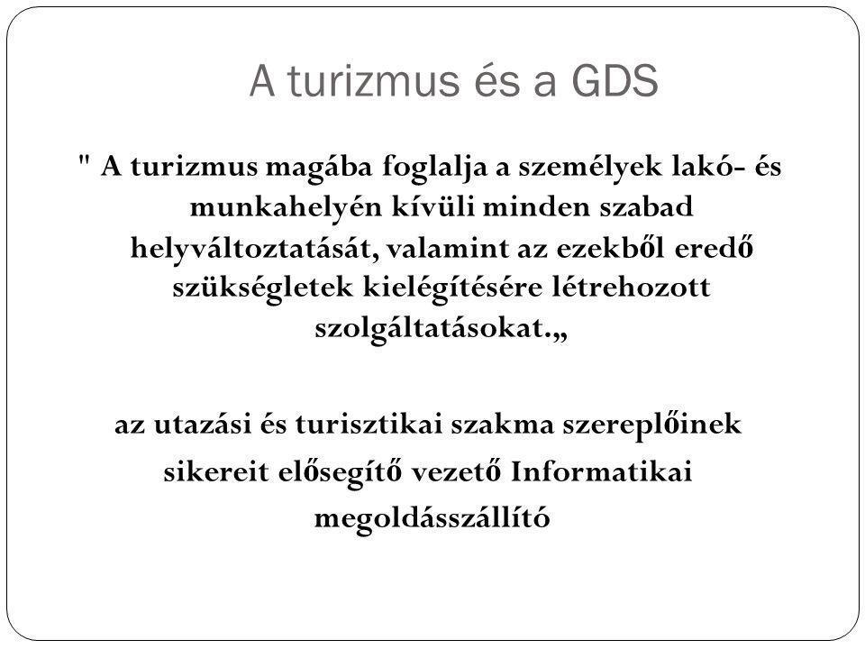 A turizmus és a GDS