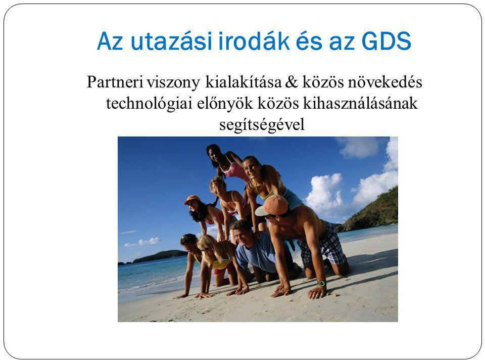 Az utazási irodák és az GDS