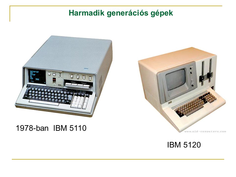 Harmadik generációs gépek