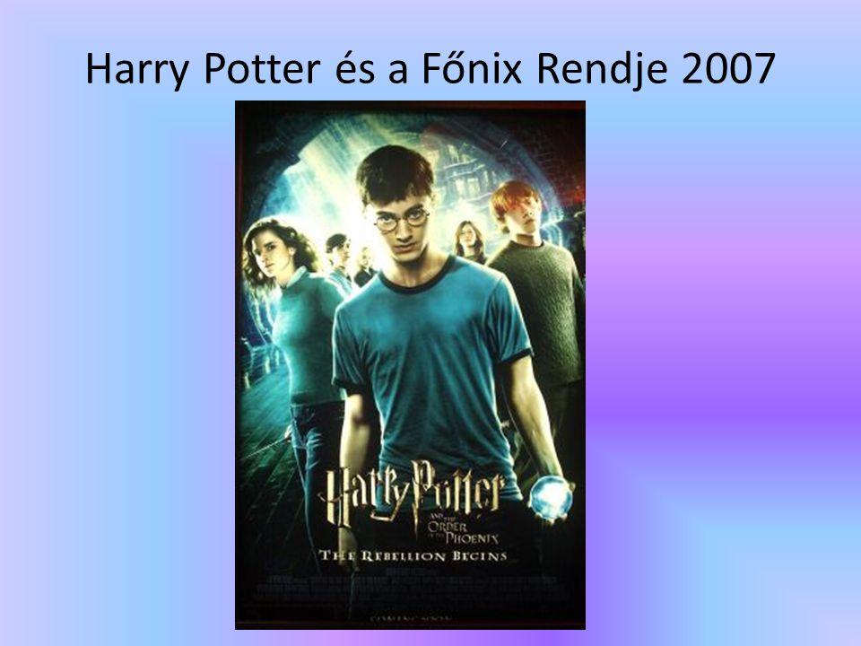 Harry Potter és a Főnix Rendje 2007