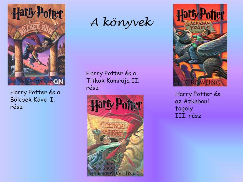 A könyvek Harry Potter és a Titkok Kamrája II. rész