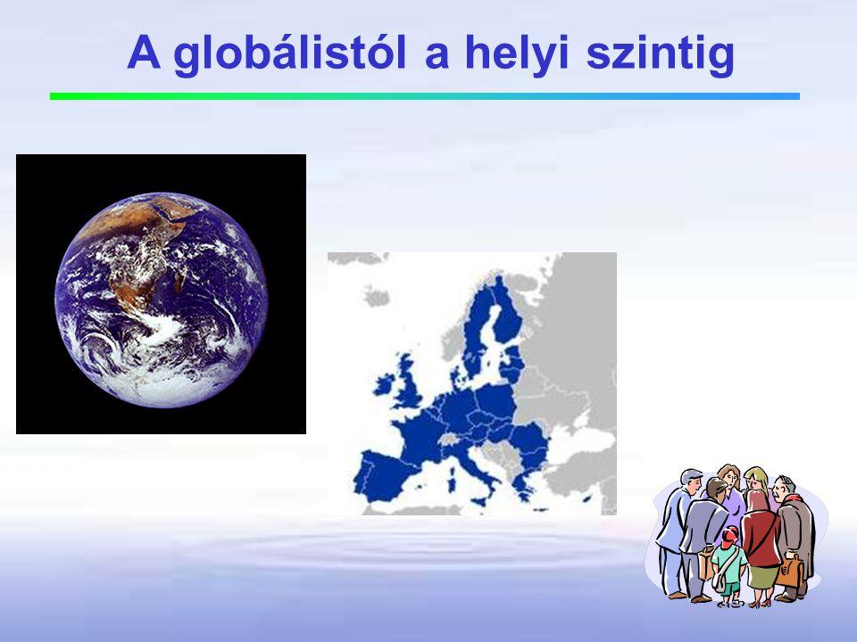 A globálistól a helyi szintig