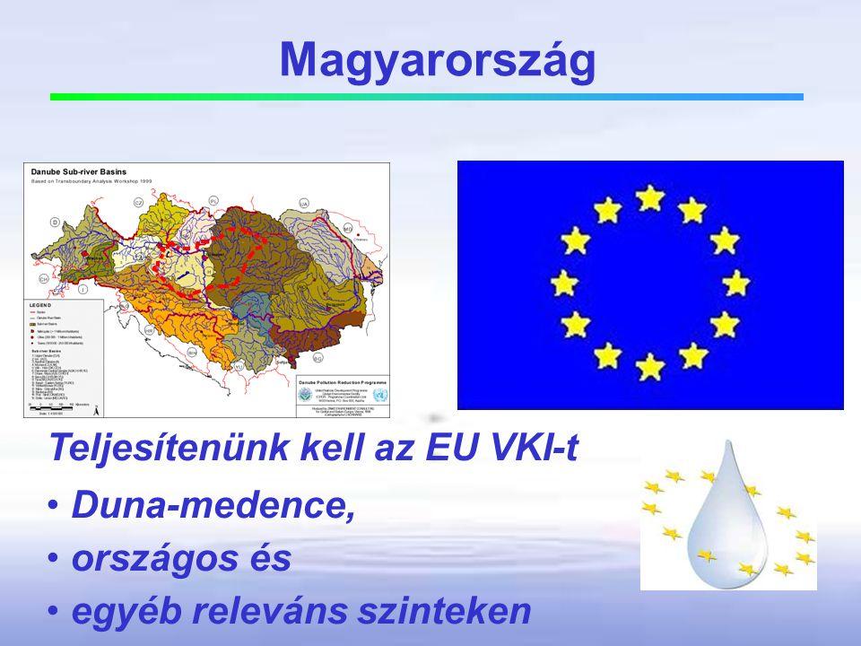 Magyarország Teljesítenünk kell az EU VKI-t Duna-medence, országos és