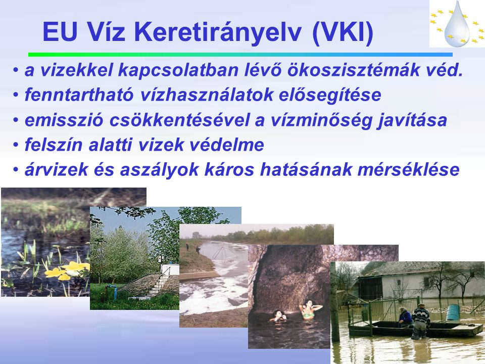 EU Víz Keretirányelv (VKI)