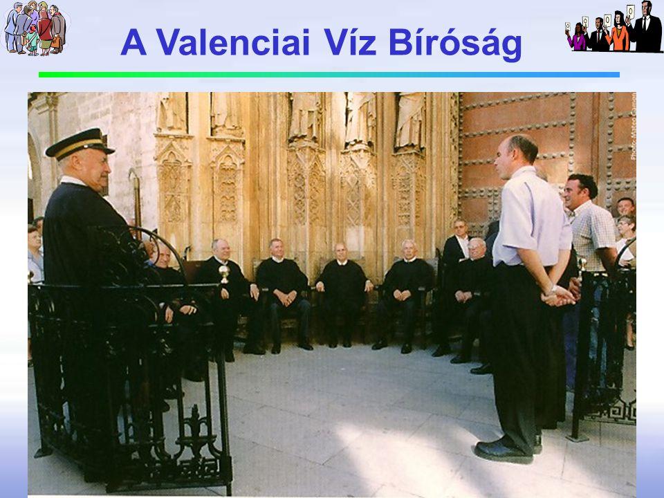 A Valenciai Víz Bíróság