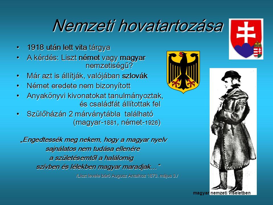 Nemzeti hovatartozása