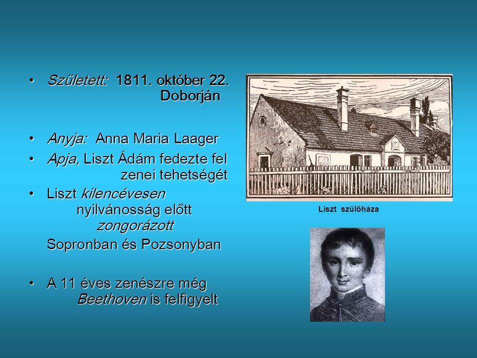 Született: 1811. október 22. Doborján