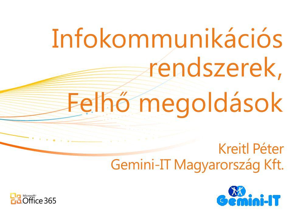 Kreitl Péter Gemini-IT Magyarország Kft.