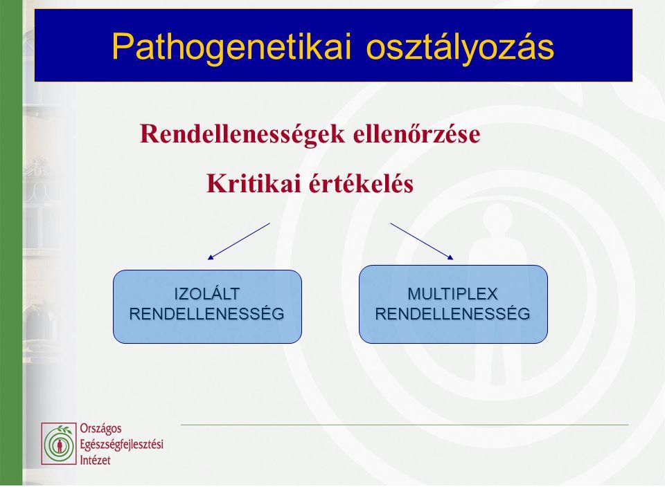 Pathogenetikai osztályozás
