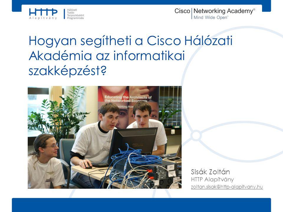 Sisák Zoltán HTTP Alapítvány zoltan.sisak@http-alapitvany.hu