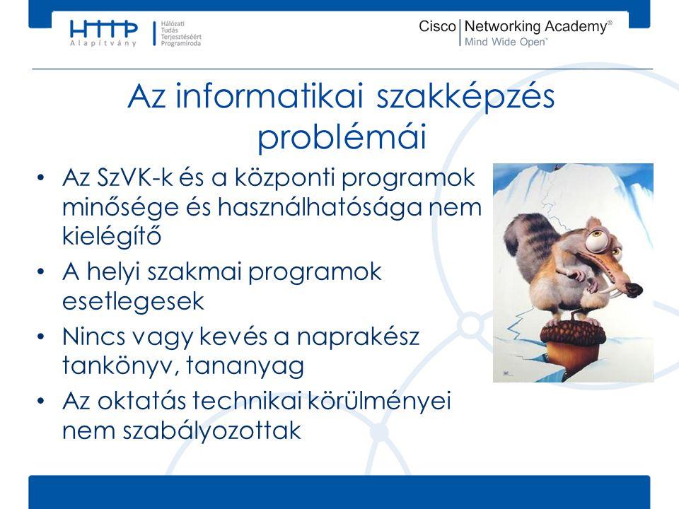 Az informatikai szakképzés problémái