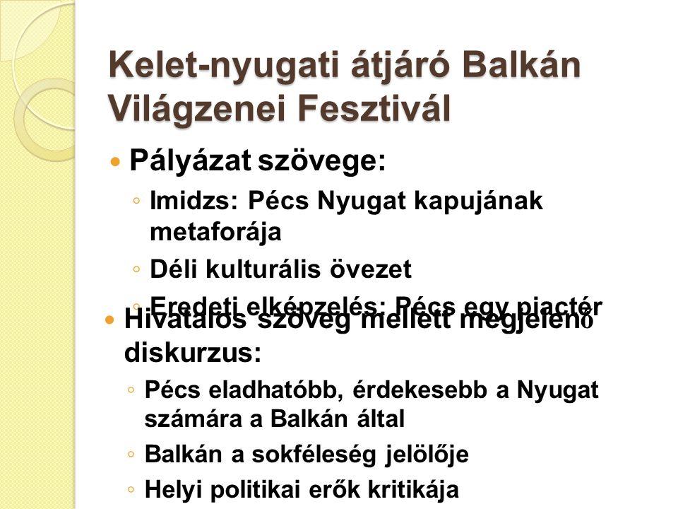 Kelet-nyugati átjáró Balkán Világzenei Fesztivál