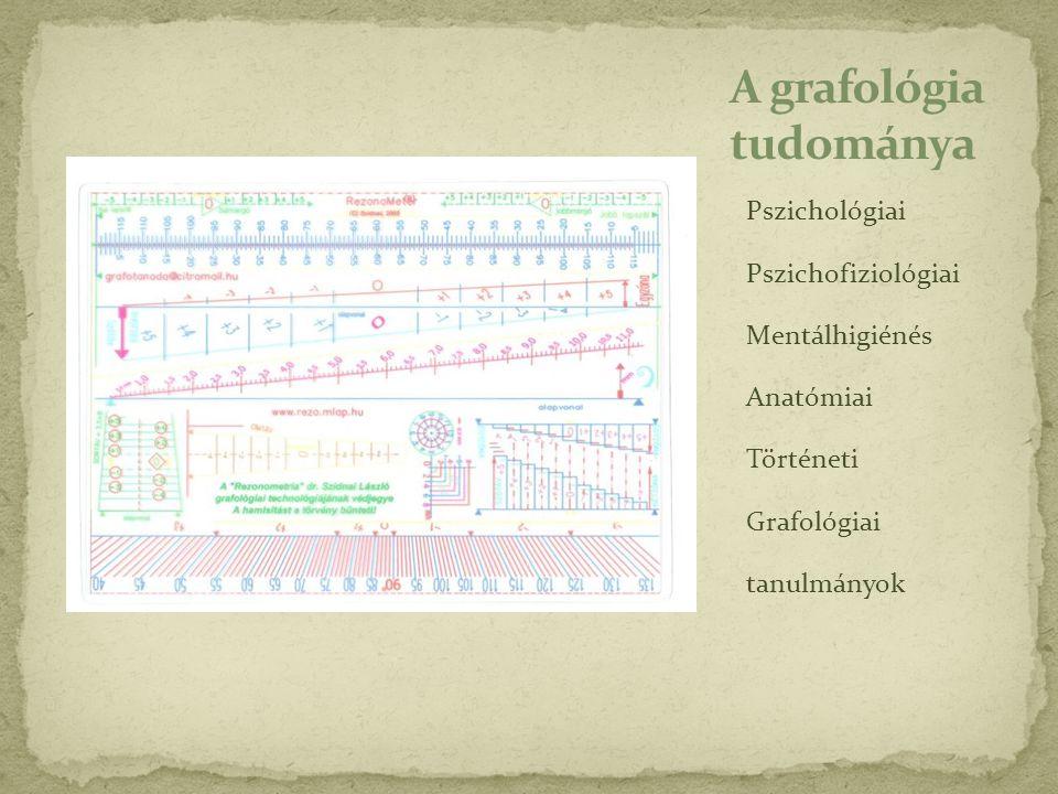 A grafológia tudománya