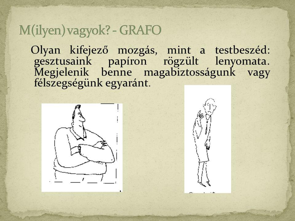 M(ilyen) vagyok - GRAFO