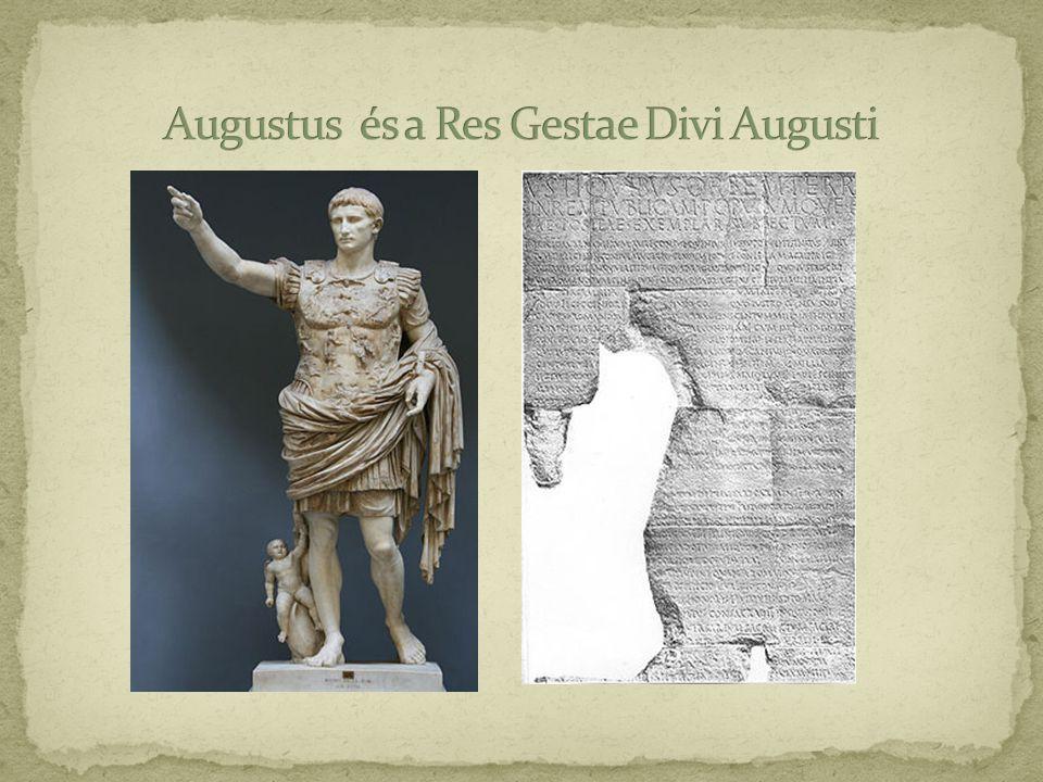 Augustus és a Res Gestae Divi Augusti