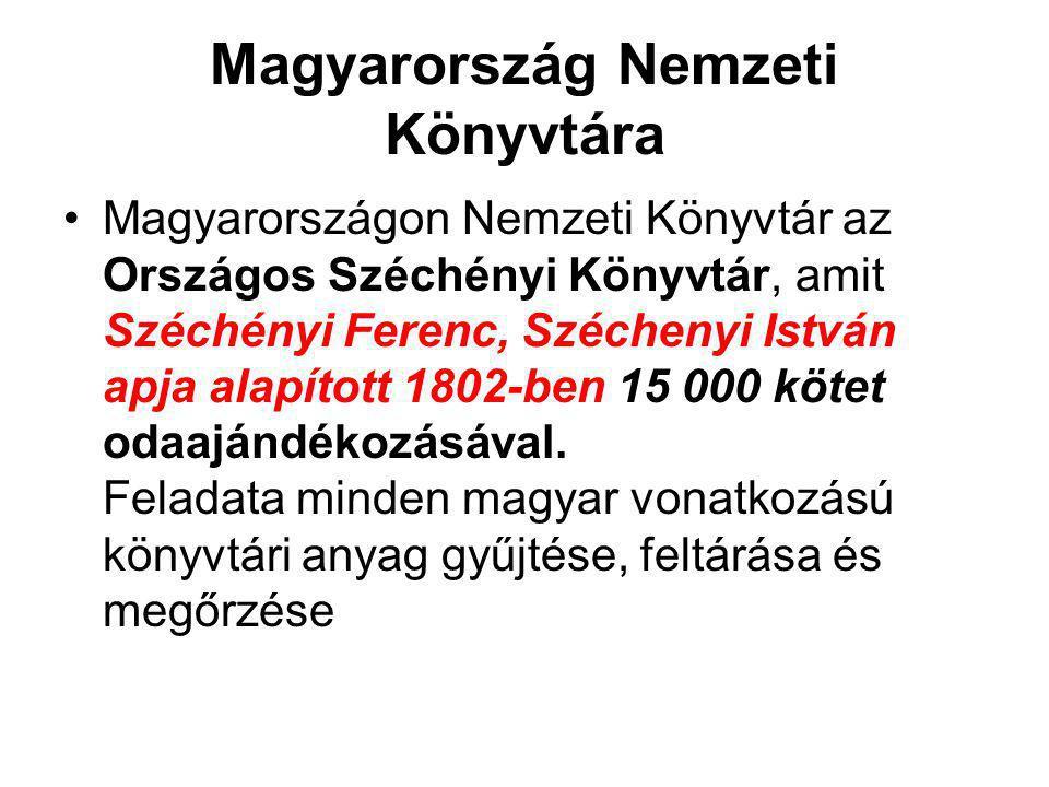Magyarország Nemzeti Könyvtára