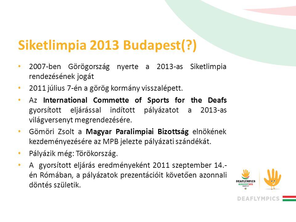 Siketlimpia 2013 Budapest( )
