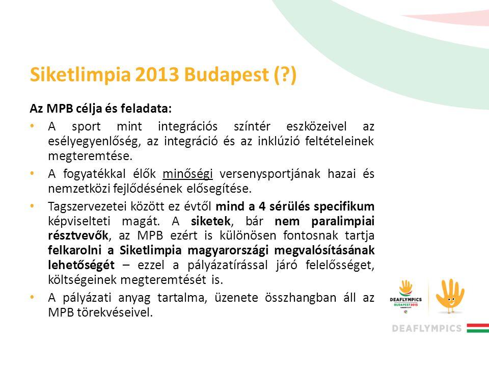 Siketlimpia 2013 Budapest ( )
