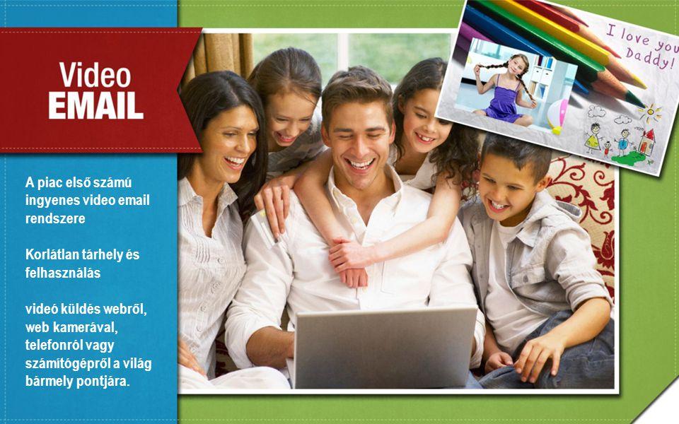 A piac első számú ingyenes video email rendszere