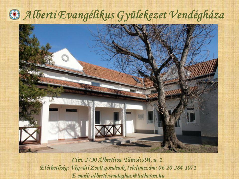 Alberti Evangélikus Gyülekezet Vendégháza