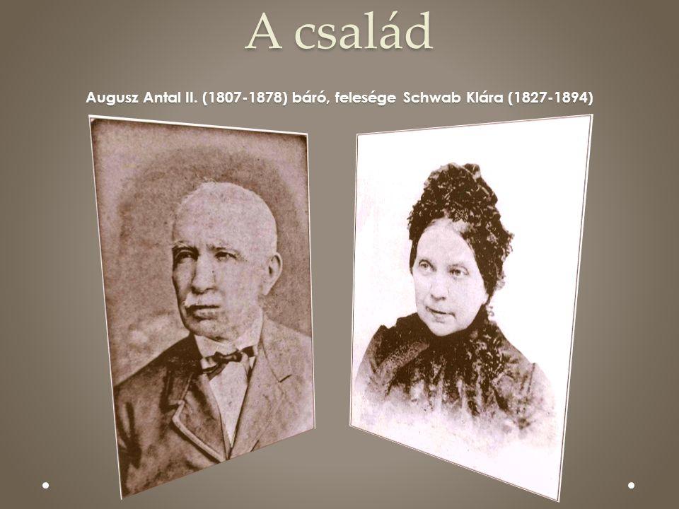 A család Augusz Antal II