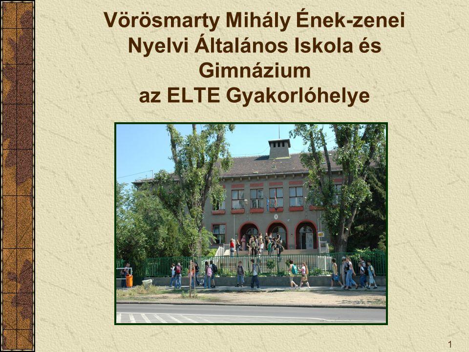 Vörösmarty Mihály Ének-zenei Nyelvi Általános Iskola és Gimnázium az ELTE Gyakorlóhelye