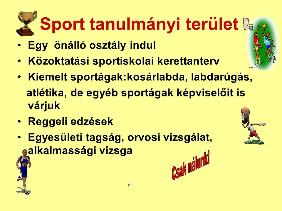 Sport tanulmányi terület