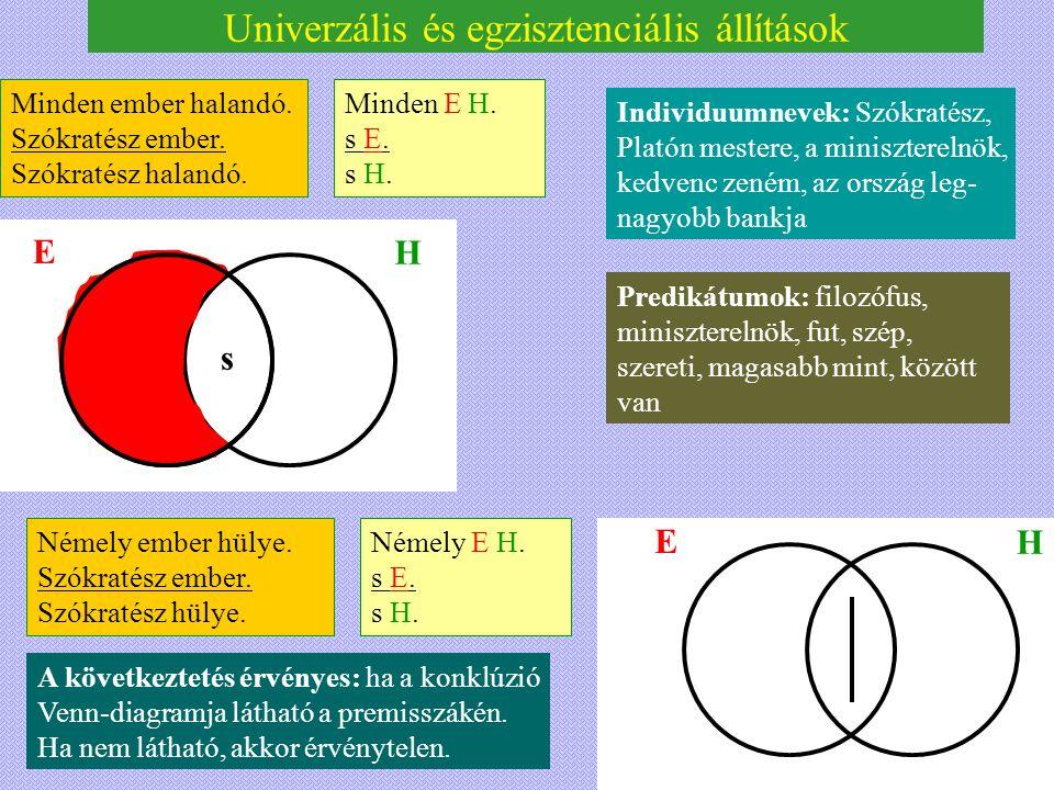 Univerzális és egzisztenciális állítások