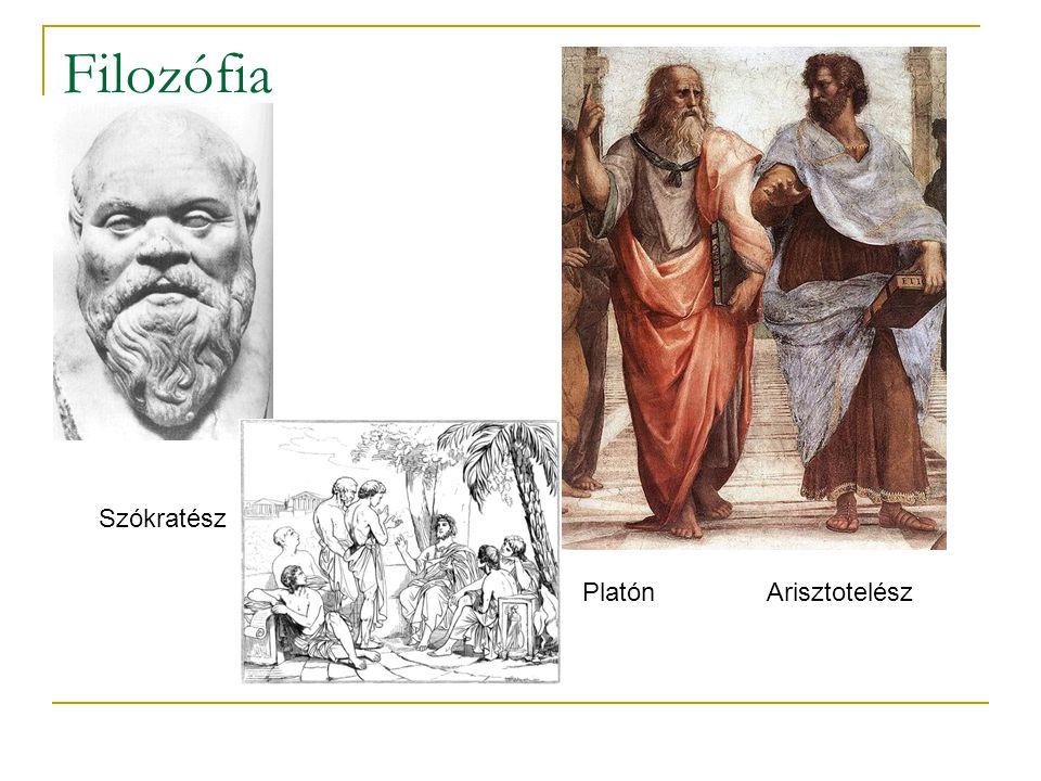 Filozófia Szókratész Platón Arisztotelész