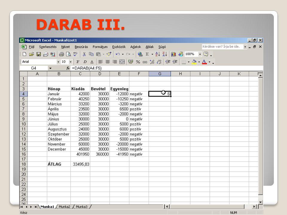 DARAB III.