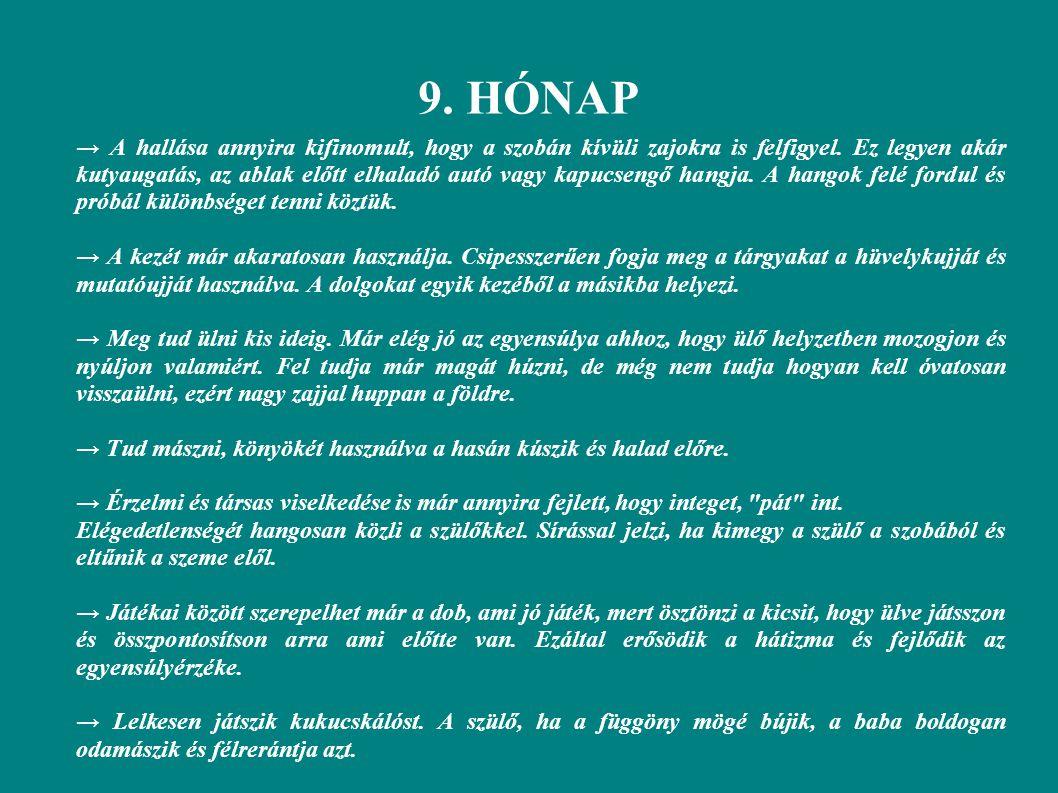 9. HÓNAP