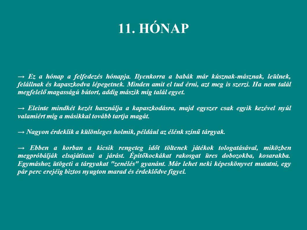 11. HÓNAP