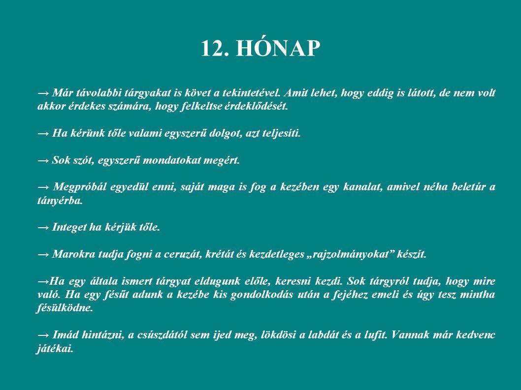 12. HÓNAP