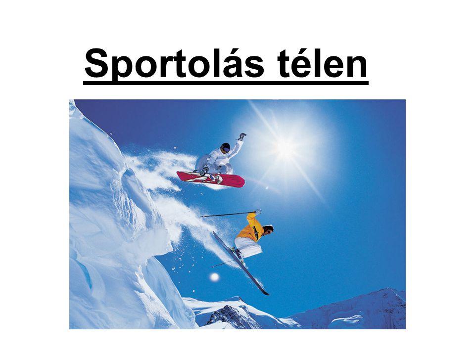 Sportolás télen